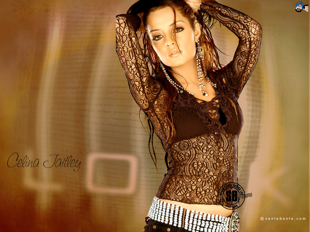 from Aaron nude celina jaitley images